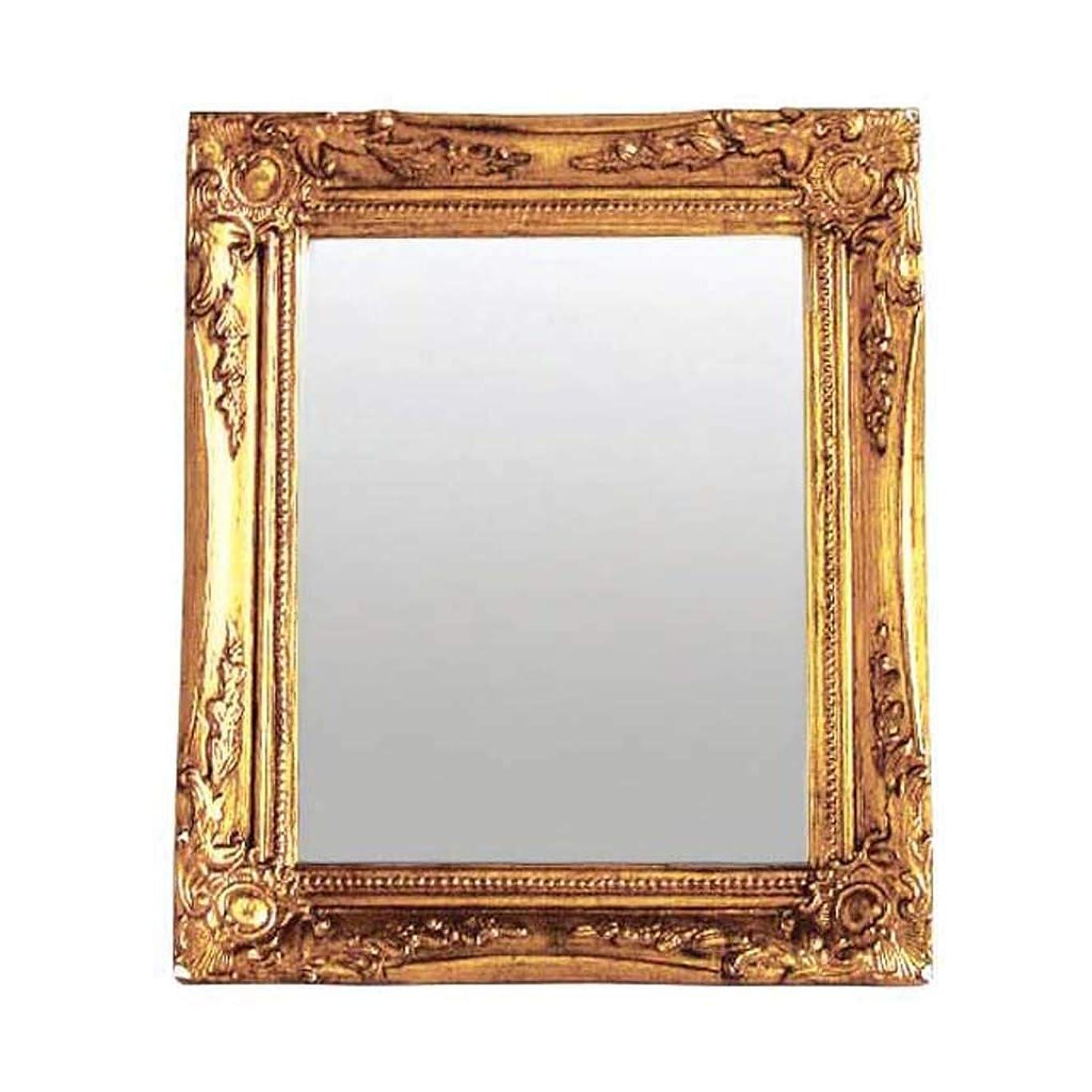 服を片付ける劣る復讐SPICE OF LIFE 鏡 額縁 アンティークスタイルミラー ANCIENT ゴールド Sサイズ 28×33.5cm SQM801SGD