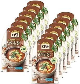 [ 12 Packs ] CJ Dadam Shepherd's Purse Soybean Paste Stew Seasoning 냉이된장찌개양념 140g