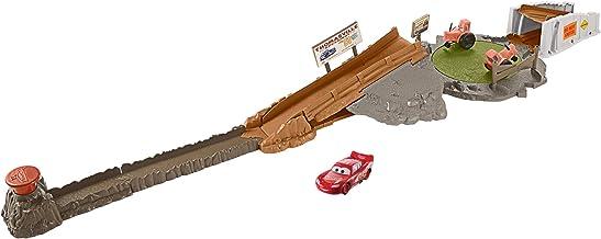 Cars Pista tractores chiflados, pista de coches de juguete (Mattel FLG70)