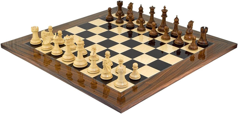 Die Madrid Grand Palisander Schachspiel