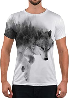 Unisex Fashion 3D Print T-Shirts Funny Graphics Pattern Crewneck Short Sleeve Tees for Mens Womens