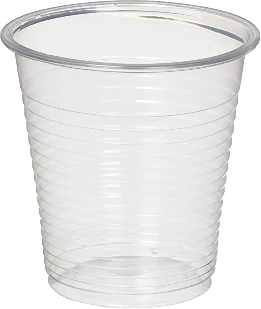 Settings 5oz Clear Plastic Disposable Cups 100 Count 2 Pack Kitchen Dining