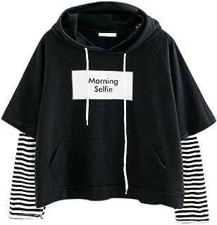 comprar comparacion OverDose mujer De Moda De OtoñO De Manga Larga del CorazóN Impreso Jersey Blusa Moda Tops Mejor Venta Camiseta Larga Sudadera