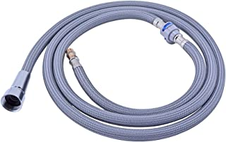 Klabb S2 Replacement PE Hose Kit with its any Pulldown Kitchen Faucets Sink Plumb Bathroom Fixture - with the hose part number 59 inches long hose and 12.8 inches short hose