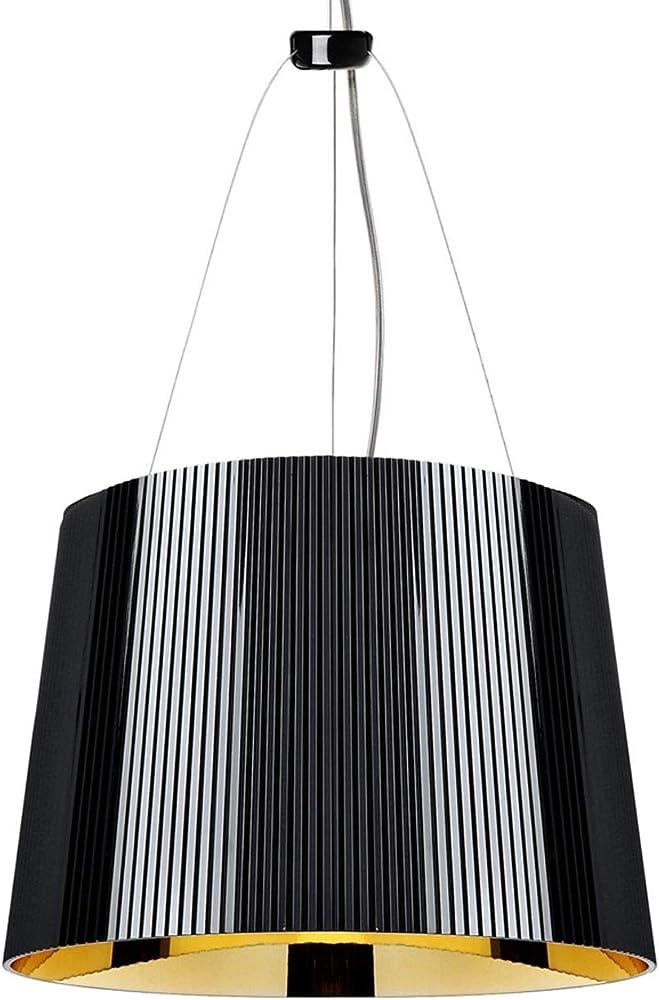 Kartell ge lampadario, colore nero/oro 9080JJ