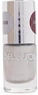 Del Sol Color Changing Nail Polish, Quick Dry Lacquer that Changes Hue in the Sun! 0.5 ounce (15ML) Full Size Bottle (Silver Skies)