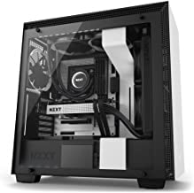NZXT H700 - ATX Mid-Tower PC Gaming Case - Tempered Glass Panel - Enhanced Cable Management System – Water-Cooling Ready - White/Black - 2018 Model