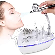 Diamond Microdermabrasion Machine with Spray Gun, MYSWEETY Professional Dermabrasion Machine & Water Spray Exfoliation Facial Beauty Machine Skin Care Equipment for Home Use(Suction Power: 65-70cmhg)