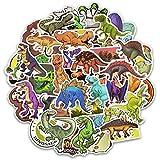 Dinosaurio Paquete de Pegatinas, BETOY 50 pcs Impermeable Pegatinas Graffiti Stickers para Portátil, Dormitorio, Funda de Viaje, Equipaje de Coche, Bicicleta