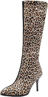 JOJONUNU Women Fashion Autumn Knee Boots