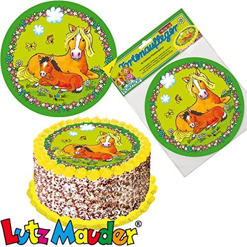 Taartoplegger * PONY * als decoratie voor taarten en cake // van Lutz Mauder // paard veulen kinderen verjaardag kinderverjaardag kinderfeestje