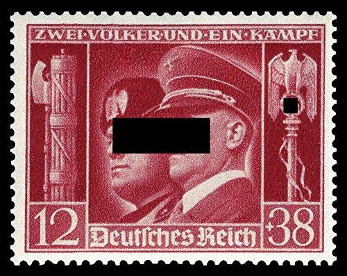 philaseum Briefmarken Deutsches Reich 1941, Mi.Nr. 763, Deutsch-Italienische Waffenbrüderschaft, Postfrisch'