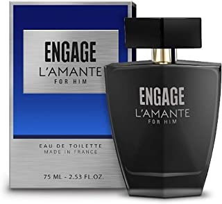 Engage L'amante Eau De Toilette,Perfume for Men, 75ml