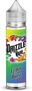 Drizzle Vapes Citrus Burst, Zero Nicotine, 50 ml