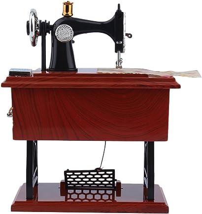 1 STÜCK Klassische Mini Octave Nähmaschine Musik Ornament Spieluhr Kreative