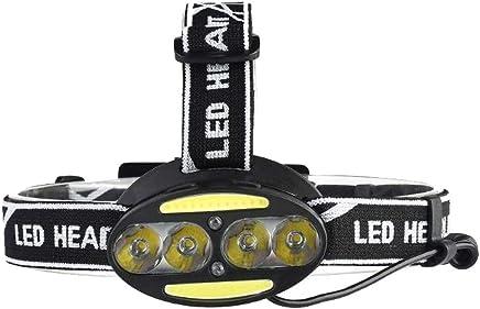 DaQingYuntur Glare led Charging Head-Mounted Induction lamp Miner's lamp Fishing Torch - USB Charging T6 Strong Headlights, Outdoor Night Fishing Mountaineering Headlights