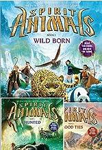 Spirit Animals™ Set: Books 1-3 Included: Wild Born, Hunted, Blood Ties