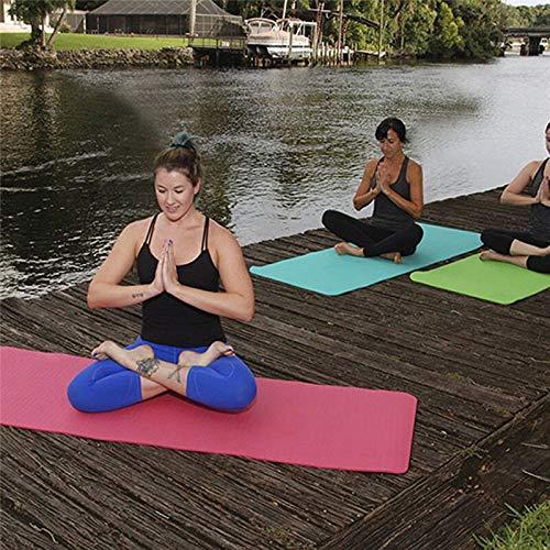 Opvouwbare gymnastiekmat Oefening Yogamat Pad Antislip Afvallen Waterdicht Sportmat Oefening Vochtbestendige pad