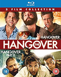 The Hangover/The Hangover Part II Double Pack [Blu-ray] [2017] [Region Free] (B009CU0TQE) | Amazon price tracker / tracking, Amazon price history charts, Amazon price watches, Amazon price drop alerts