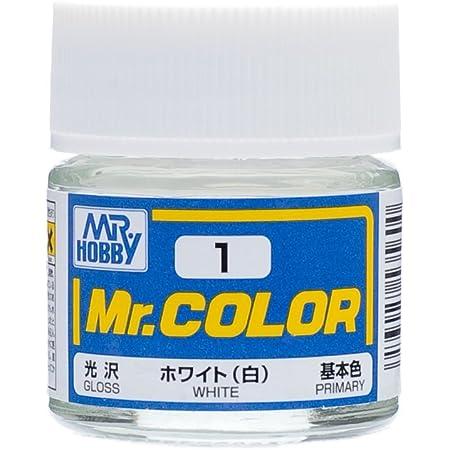 GSIクレオス Mr.カラー ホワイト (白) 光沢 10ml 模型用塗料 C1