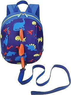 DB Dinosaur Toddler Mini Backpack with Leash,Children Kids Baby Harness Bookbag