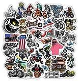 GSNY Pegatinas Personalizadas de Graffiti para Motocicleta, Equipaje, monopatín, refrigerador, Casco de Coche, decoración, Pegatinas Impermeables, 50 Hojas