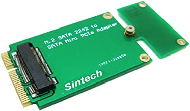 Sintech M.2 NGFF 22x42 Adapter As 3x7cm Mini PCI-e SATA SSD for Asus Eee PC 1000 S101 900 901 900A T91