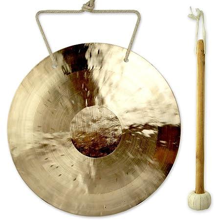 Original  China  Gong Flachgong aus Messing 55 cm