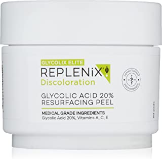 Glycolix Elite 20% Glycolic Acid Pads for Acne, Fine Lines, Wrinkles and Age Spots, 60 Count