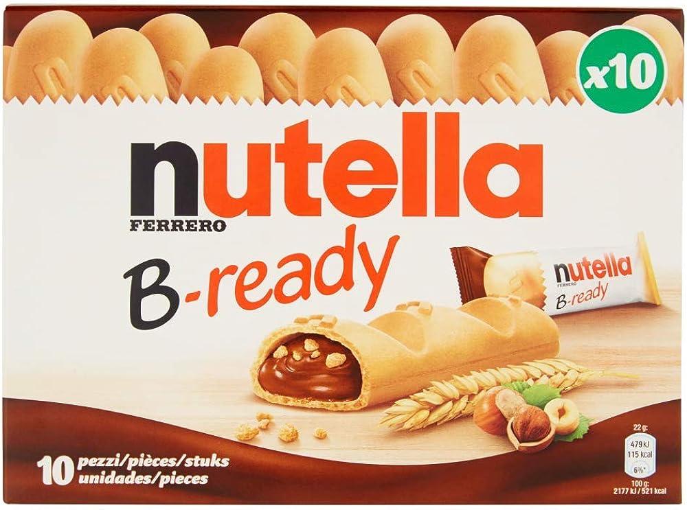 Nutella b ready, confezione da 10 pezzi