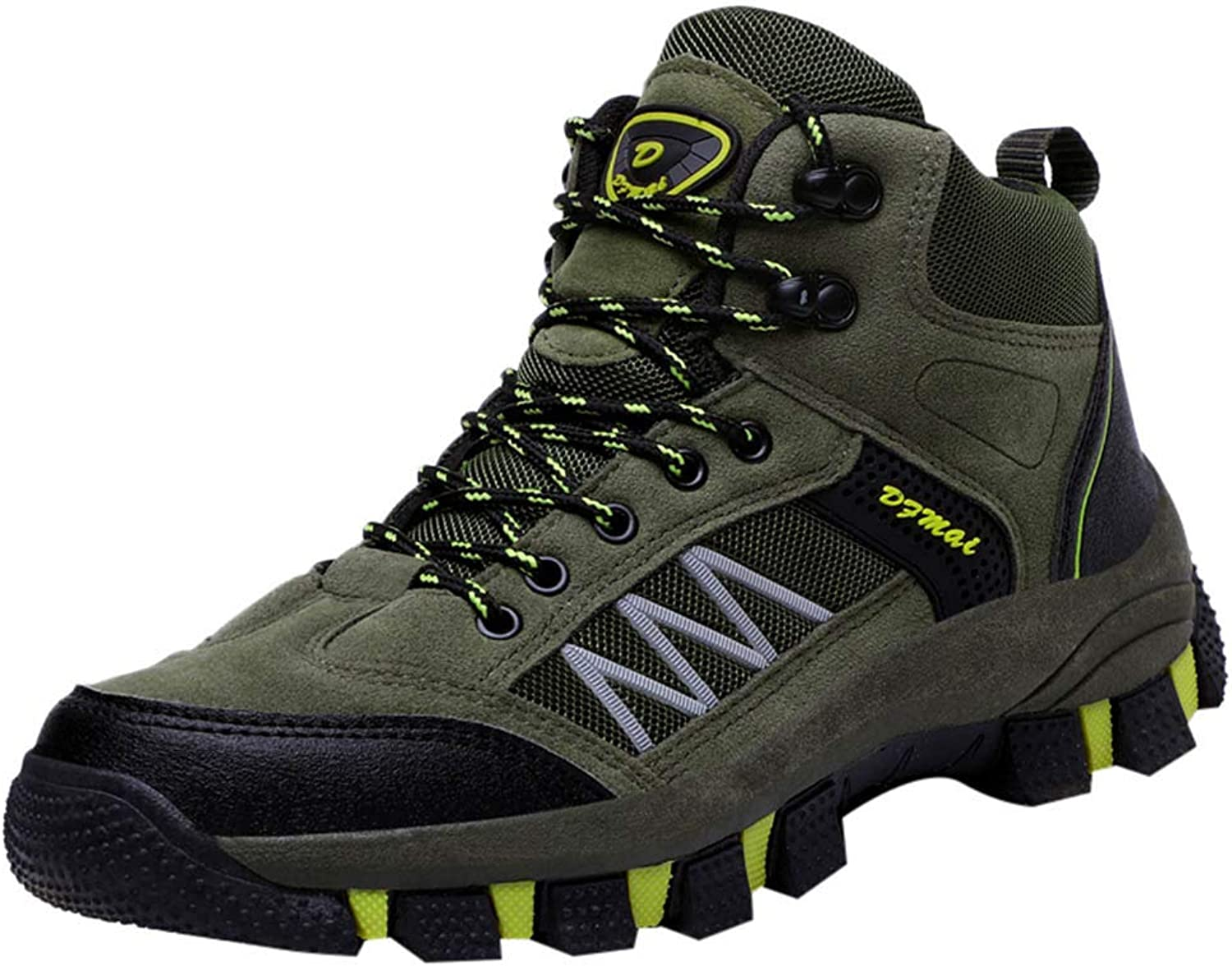 Men's Hiking shoes, Outdoor Breathable Leather Cozy Mountaining shoes for Women