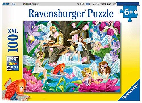 Ravensburger Kinderpuzzle 10942 - Magische Feennacht - 100 Teile