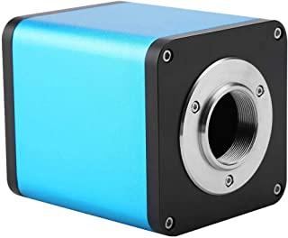 0.5X C-Mount Objective Lens 1//2 CTV Adapter for SZM Video Digital Camera Trinocular Stereo MICR Wandisy Stereo Microscope
