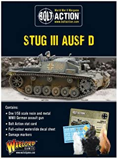 Bolt Action: Early Stug III Ausf D