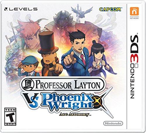 Professor Layton vs Phoenix Wright Ace Attorney