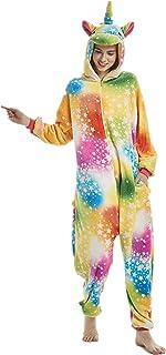 Animal Cosplay Costume Unicorn Onesie Unisex Adult Pajamas Halloween Xmas  Gift aa2c0c6b1