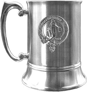 Montgomery Scottish Clan Crest Pewter Badge Tankard