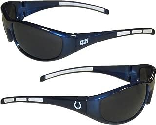 Purchadise NFL 3-Dot Wrap Sunglasses-UVA and UVB Protection-Many Teams!