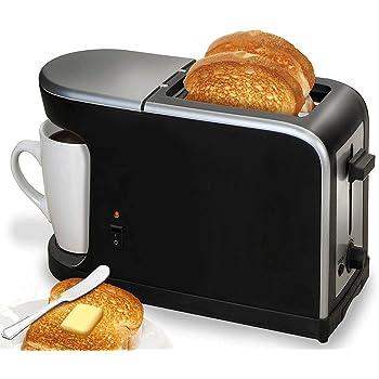 Breakfast 2 1 - Cafetera - Tostador 900 W: Amazon.es: Hogar