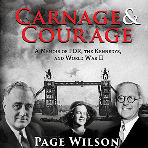 Carnage and Courage audiobook cover art