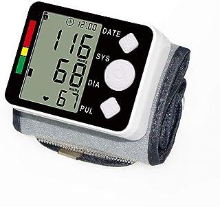 LTLGHY Tensiómetro De Muñeca, Tensiómetro De Brazo Digital, 2 Memorias De Usuario(2 * 99), Detección De Frecuencia Cardíaca Irregular,Apagado Automático
