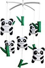 Handmade Baby Music Mobile Crib Early Education Toy -Panda