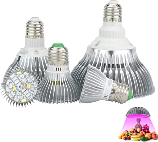 Led Plant Grow Light E27, Full Spectrum 18W 28W 30W 50W 80W, For Hydroponics Plant Light, Suitable For All Growth Stages O...