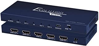 Vanco 4K HDMI 1 x 4 Splitter