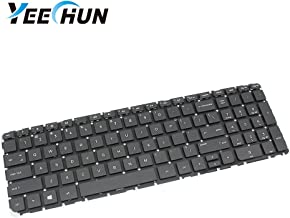 YEECHUN US Keyboard Without Frame for HP Pavilion 250 G3,255 G3,250 G2,255 G2 15-A 15-D 15-E 15-F 15-H 15-G 15-N 15-R 15-S e066 e042 e064 e041 e065 Series P/N: V140502AS1, PK1314D2A00, SPS-749658001