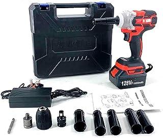 SUDEG Cordless Impact Wrench Set,Electric Impact Wrench,Brushless Cordless Power Tool,Impact Frequency Wrench LED Light 12...