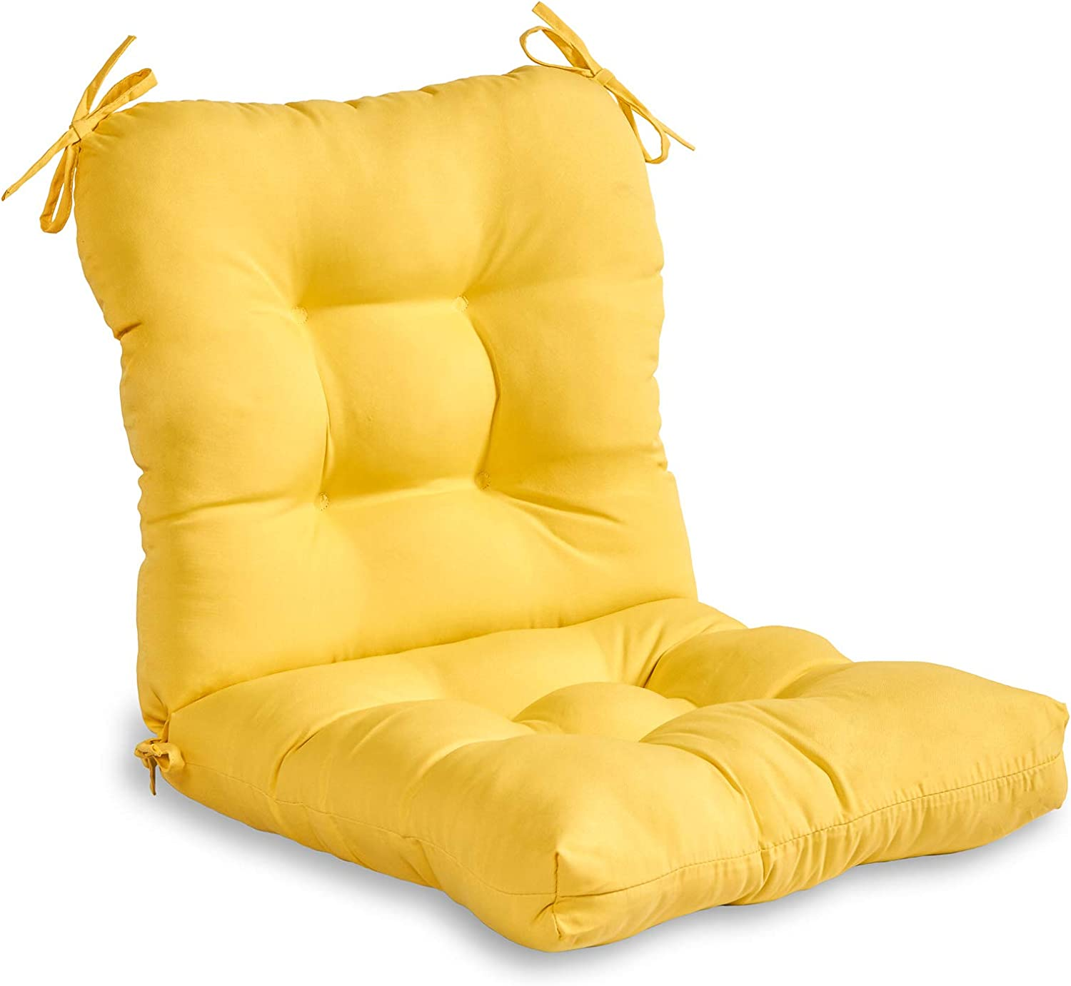 South Pine Porch Outdoor Solid Sunbeam Yellow 5% OFF Chair Seat Back Outlet SALE Cu