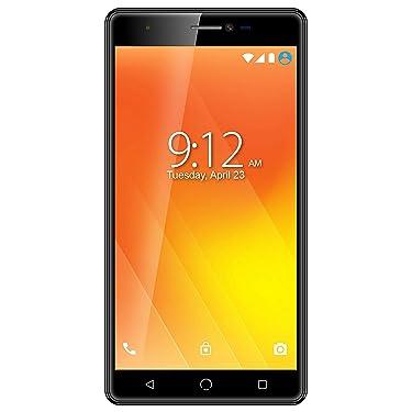 "Surya Nuu M3 4G Volte Smartphone with 5.5"" Touchscreen Display , Jio4G Support (Black, 3GB RAM 32GB ROM)"