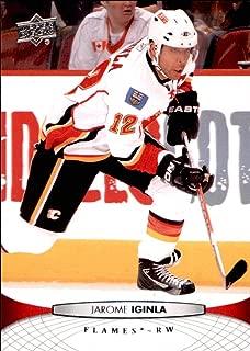 2011-12 Upper Deck #173 Jarome Iginla CALGARY FLAMES NHL (Box69)