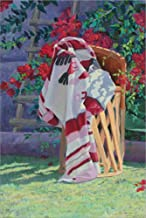 Blanket & Stool by Sharon Weiser Laminated Art Print, 14 x 21 inches